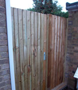 fencing and gates - dan morgan garden landscaping and maintenance